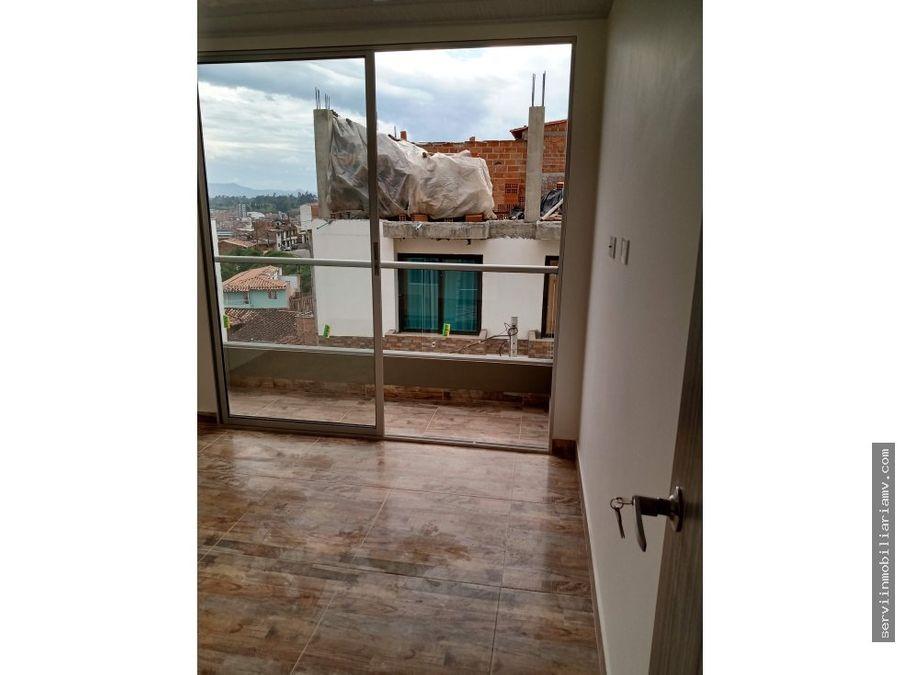 vendo apartamento 2do piso marinilla 200