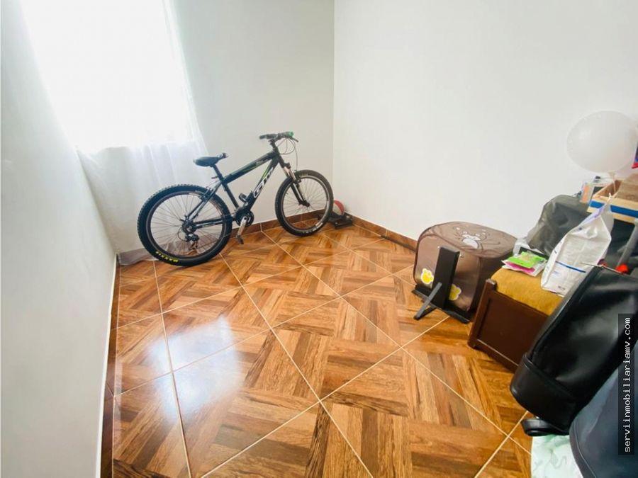vendo apartamento en la ceja 4to piso parqueadero 190