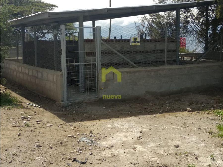 en venta galpones de pollos en malchingui