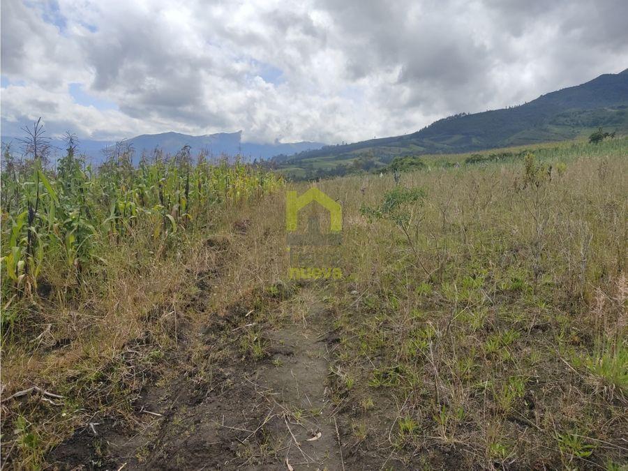 vendo terreno de 5700m2 calpaqui alto