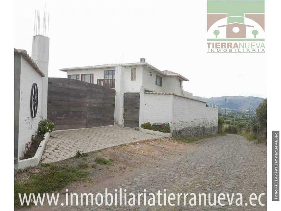 en venta bonita casa de campo con terreno