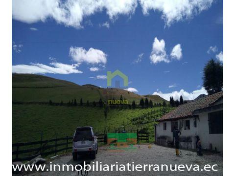 en venta hacienda ganadera 100 hectareas en el quinche
