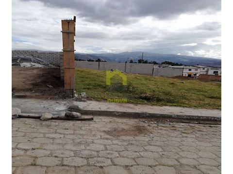 terreno 1340 metros en san nicolas cayambe