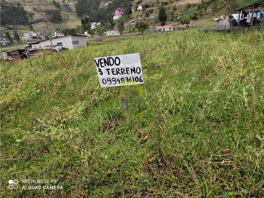 terreno barato en quichinche