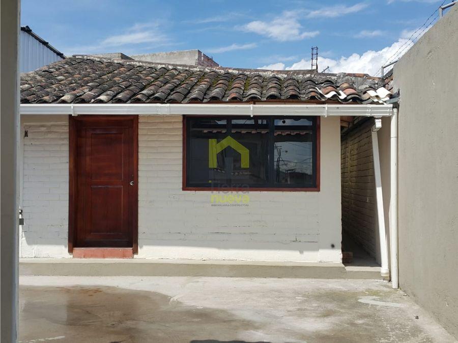 hermosa casa en venta en la cuidad de ibarra
