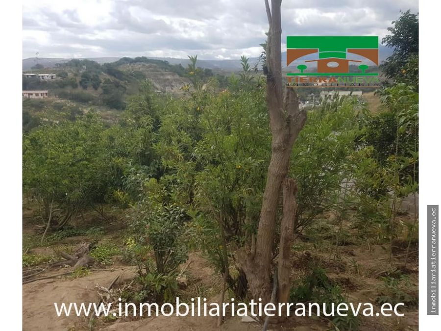 casa con terreno de 1000m2 en guallabamba