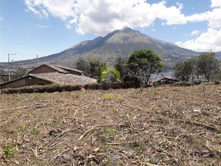 vendo terreno otavalo sector san rafael