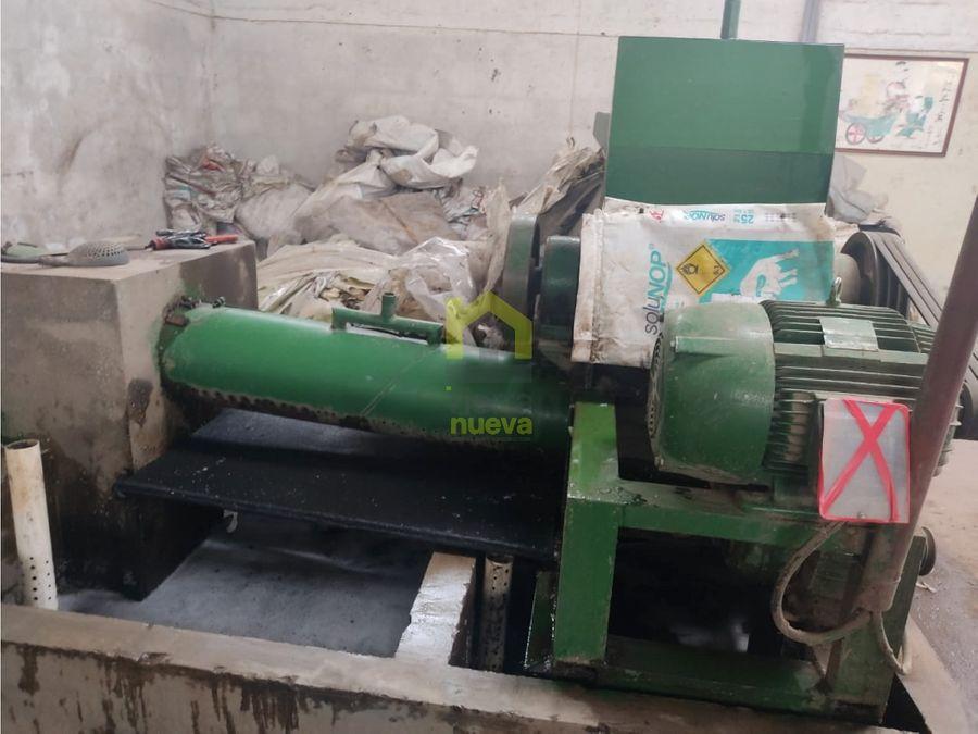 recicladora de plastico