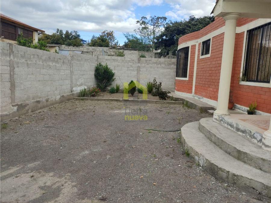 en venta casa con terreno