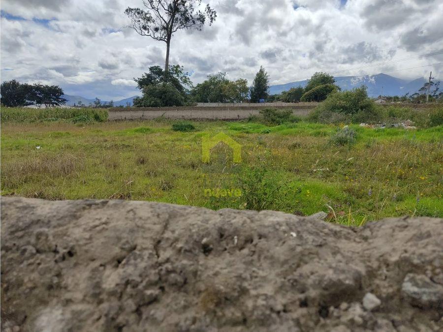 hermoso terreno plano en natabuela