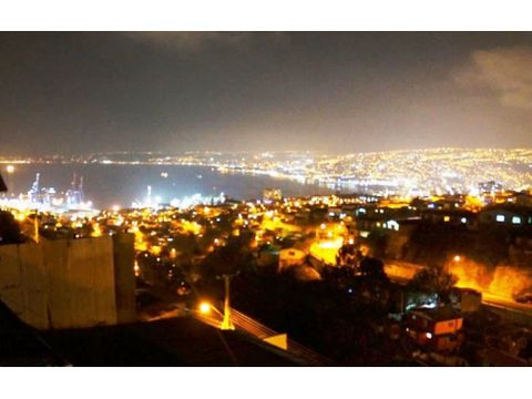 dos casas en cerro cordillera de valparaiso