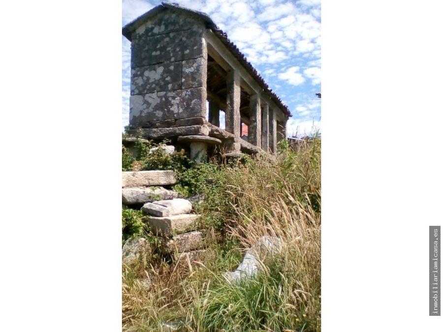 casa para restaurar en campo lameiro