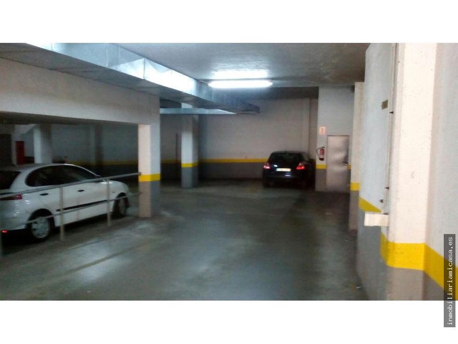 plaza de garaje en calle fernando ii