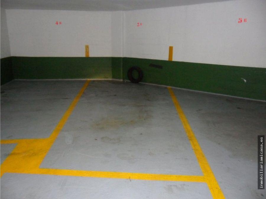 plaza de garaje centrica