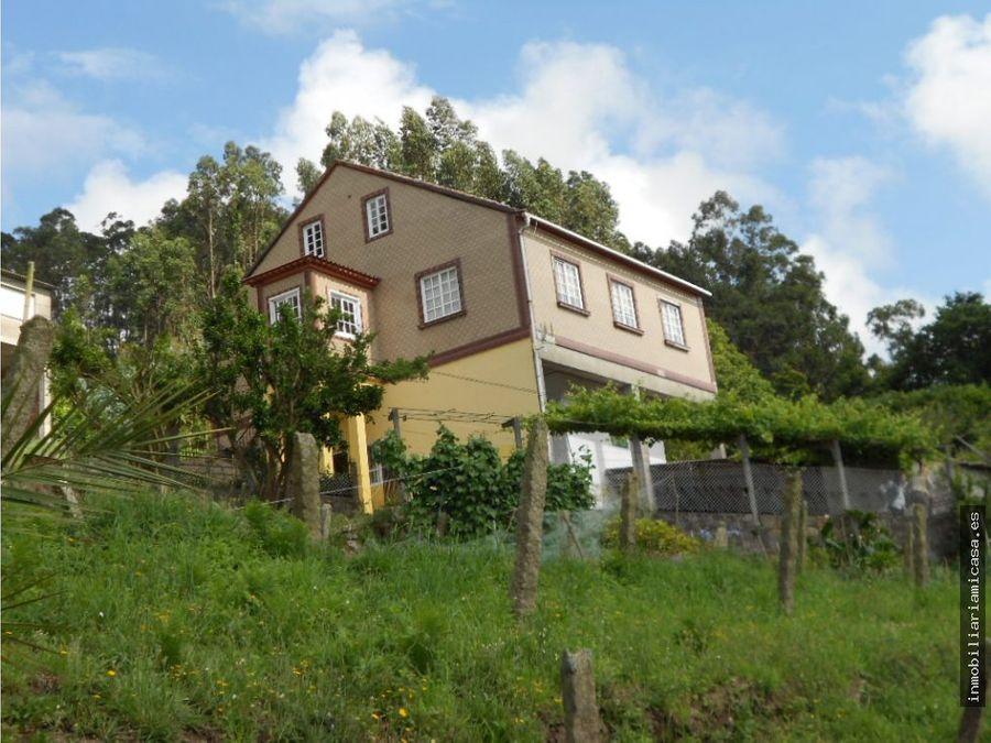 casa habitable con vistas al mar