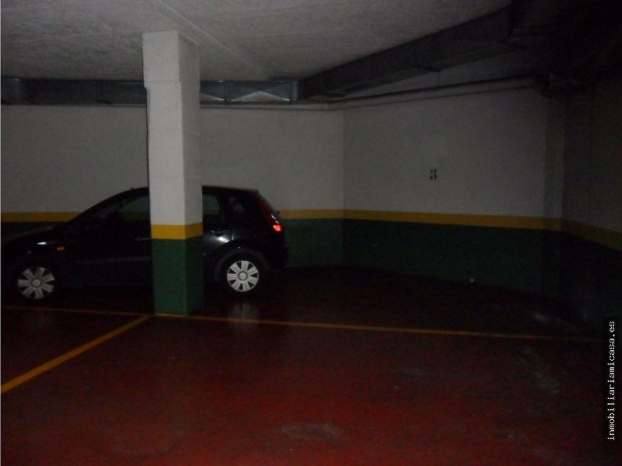 plaza de garaje en la calle joaquin costa