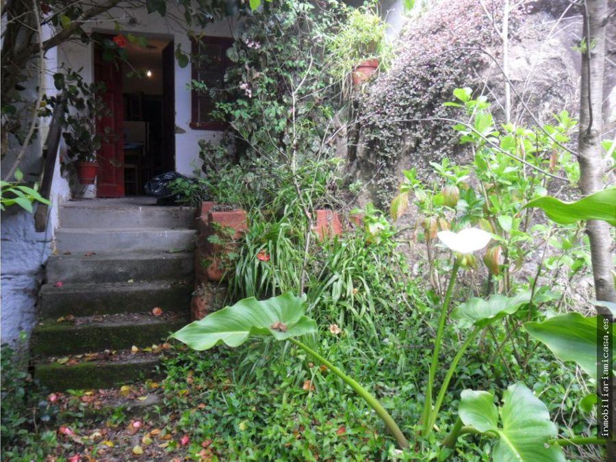 finca con casa para rehabilitar