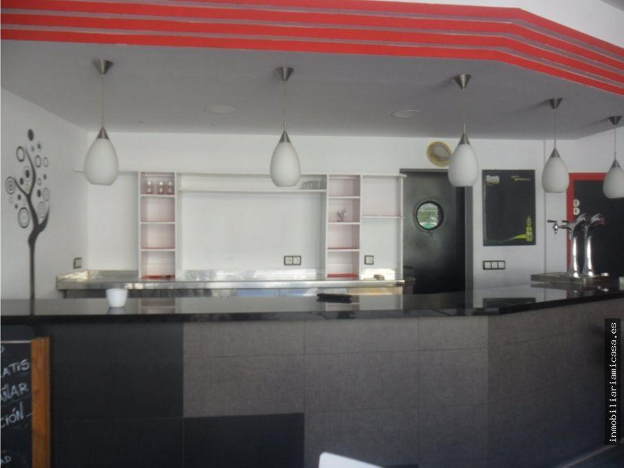 cafeteria en alquiler con licencia