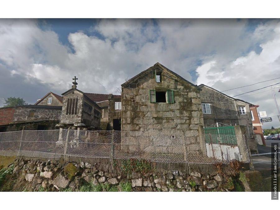 casa rustica con horreo