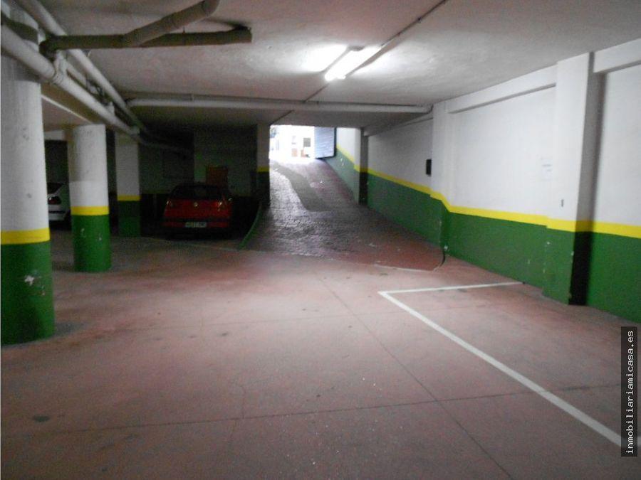 dos plazas de garaje centricas