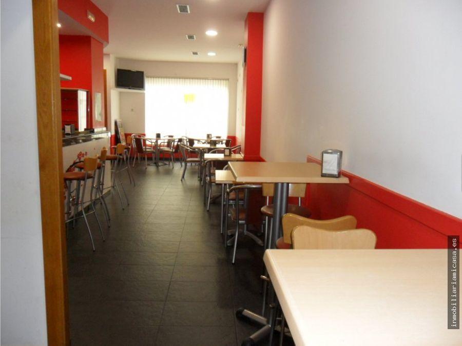 cafeteria en funcionamiento