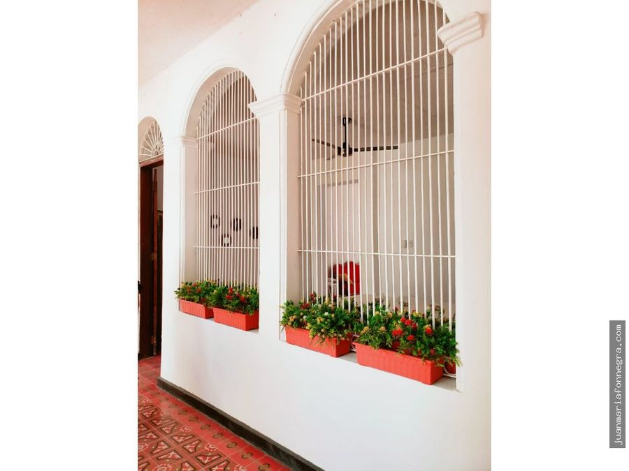 venta casa colonial santa marta
