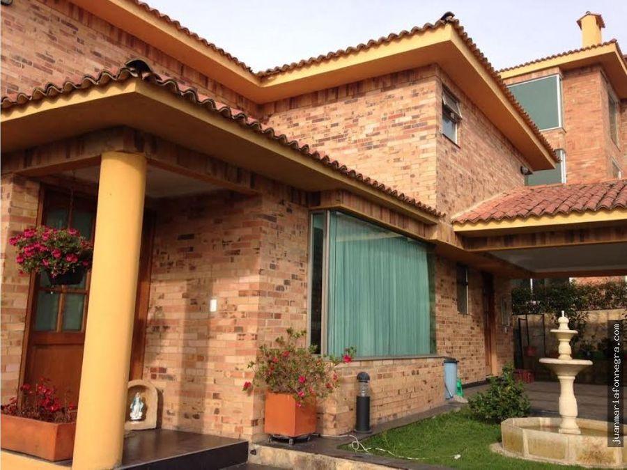 venta casa la calera villas de tunjaque