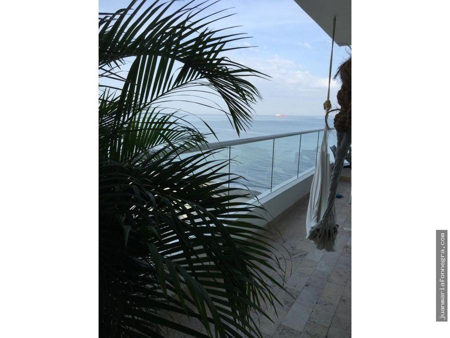 apartamento venta frente al mar bello horizonte