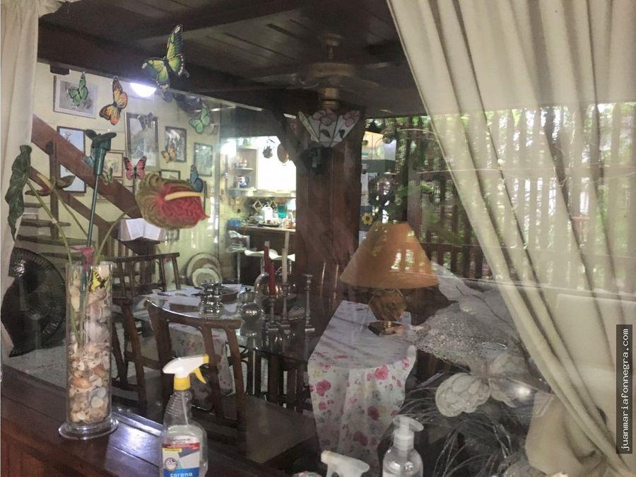 venta casa rodadero frente al restaurante pescaito