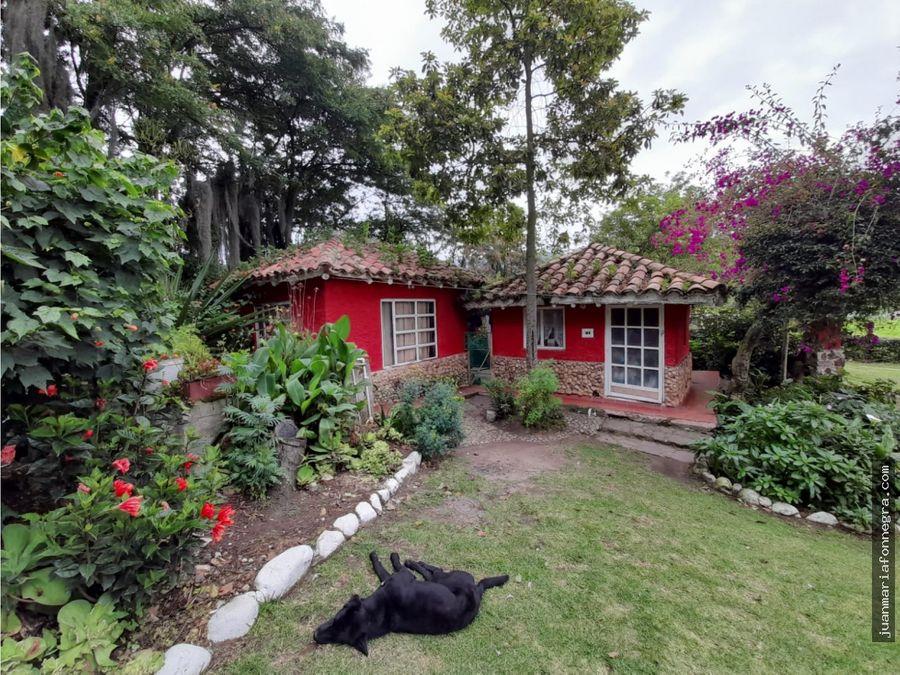 venta casa campestre paipa