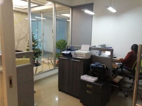 alquiler oficina amoblada costa del este
