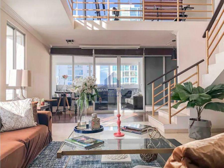 alquiler penthouse amoblado san francisco