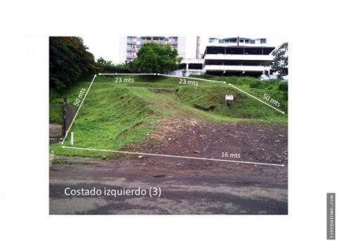 venta terreno con zonificacion rm2 en betania