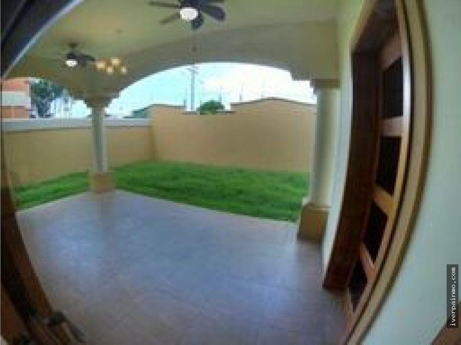 alquiler casa linea blanca costa sur