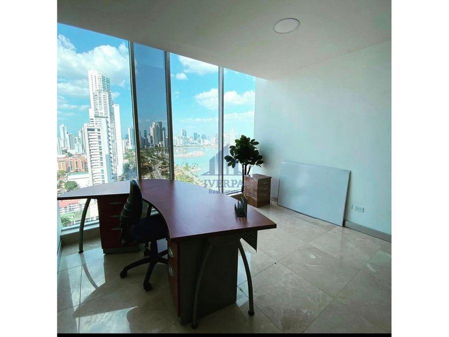 alquiler oficina amoblada bella vista