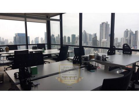 se alquila oficina en la torre tower bank calle 50 lt