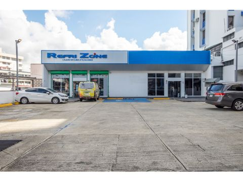 se alquila local comercial en via brasil planta baja de 240m2