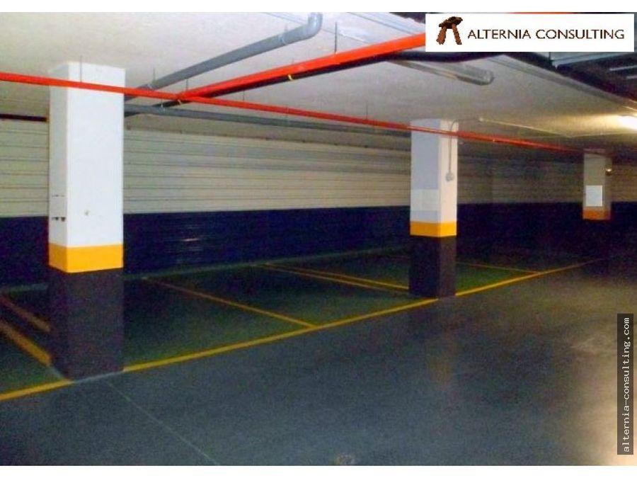 plaza de garaje en venta arganda