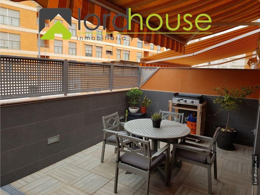 piso con terraza zona la vina