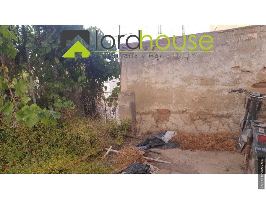casa para restaurar en la rivera
