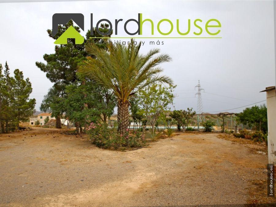 casa de campo en almendricos