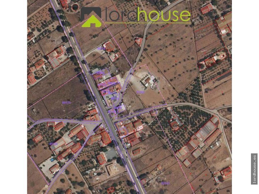 parcela urbana de 840m2 en purias