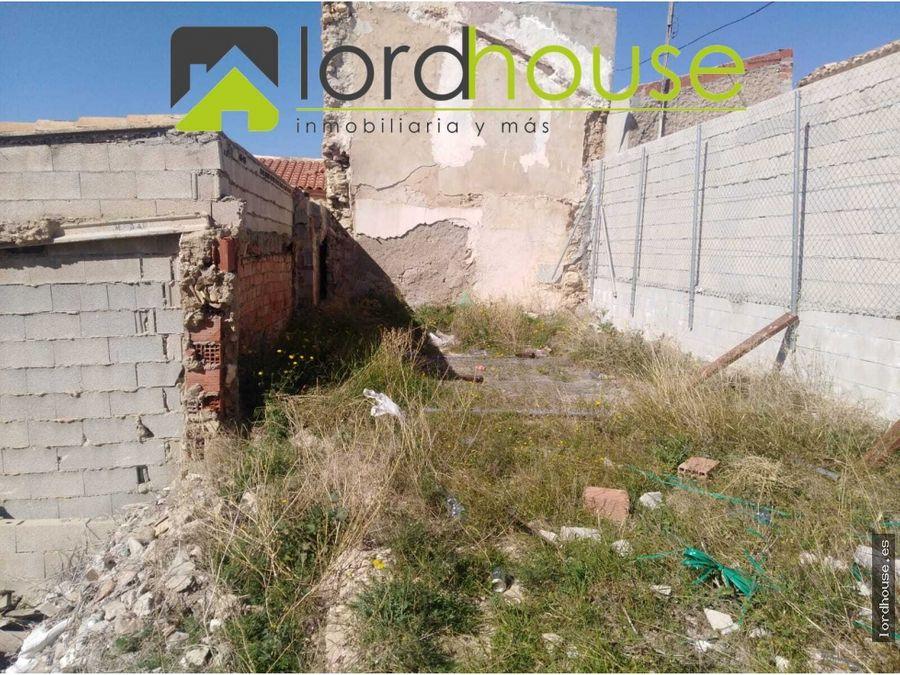 solar con proyecto para la construccion de vivienda
