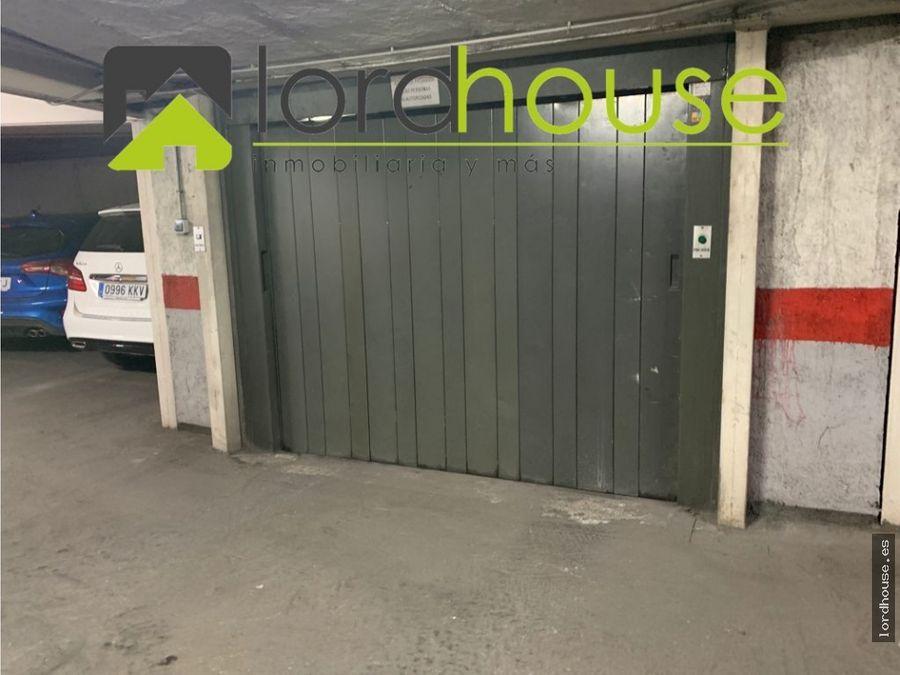 plaza de garaje a 50m del ovalo