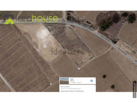 parcela para edificar vivienda en purias