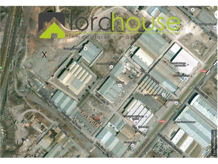 solar a de 10000m2 poligono industrial los penones