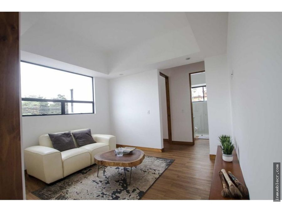casa en condominio contemporaneo sin muebles