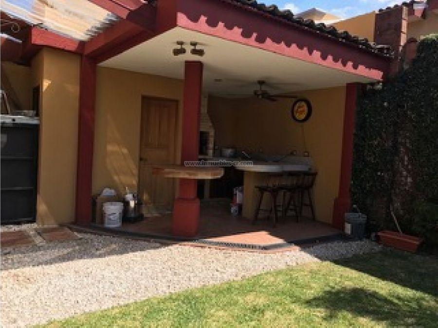 casa semi amueblada en venta en la ribera de belen