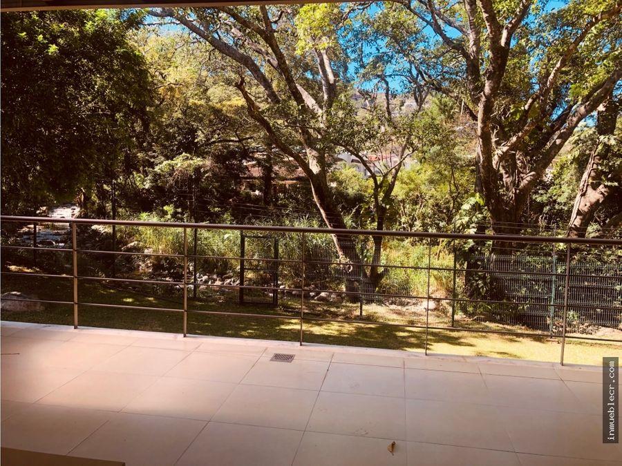 riverpark con hermosa vista al bosque y gran terraza