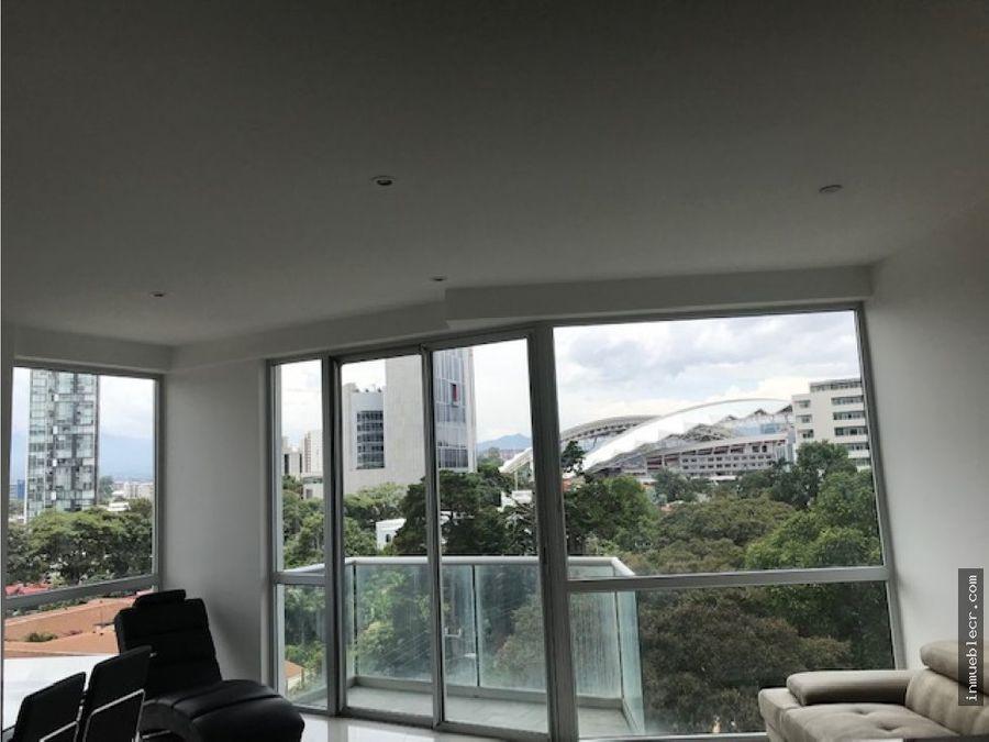 bello apartamento en nunciatura semi amueblado